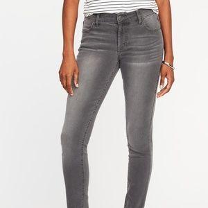 Old Navy Super Skinny Jeans in Gray